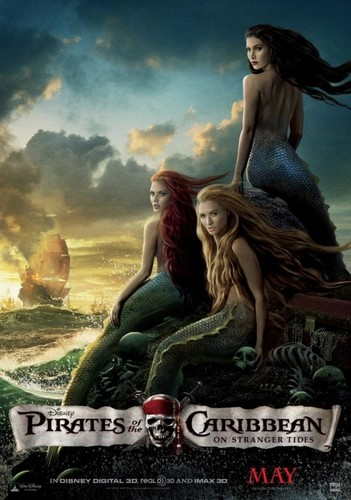 Mermaids wallpaper with anime entitled Mermaids-Pirates of the Caribbean
