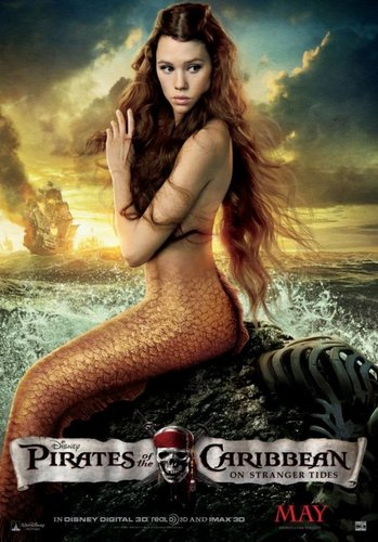 Mermaids-Pirates of the Caribbean