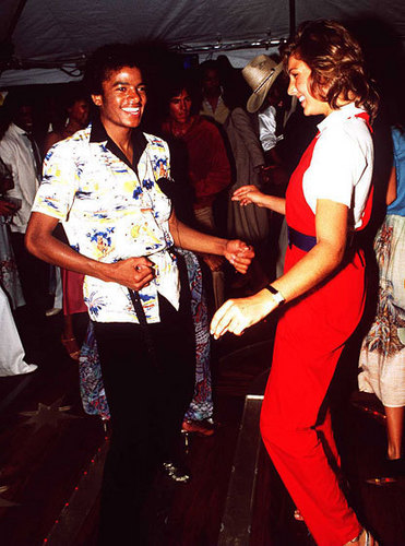 Michael Jackson Dancing with  Ex Girlfriend-Tatum O'Neal [= <3