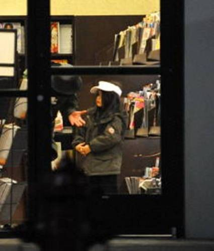 Michael talking to Blanket