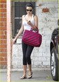 Miranda Kerr works on her fitness as she leaves a private gym on Friday (June 10) in Los Angeles.