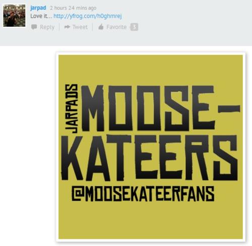 Moosekateers Unite!