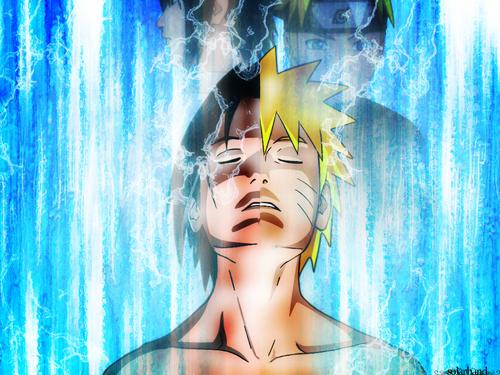 Naruto Shippuuden wallpaper called Naruto & Sasuke