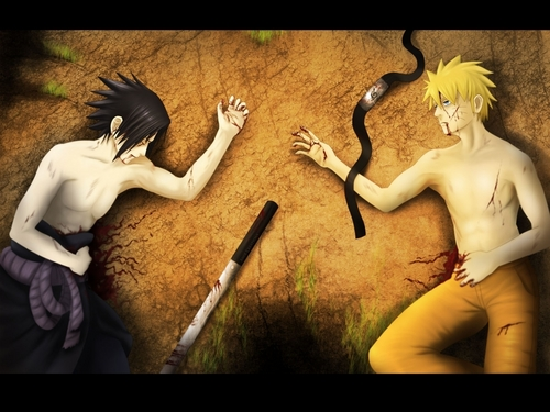 naruto shippuden wallpaper called naruto & Sasuke