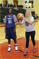 Nastia Liukin: ESPN RISE Girls Showcase Shoot-Out! - basketball photo