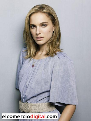 Natalie Portman fond d'écran possibly with an outerwear, a blouse, and a box manteau titled Natalie Photoshoot