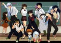 New Inuyasha school