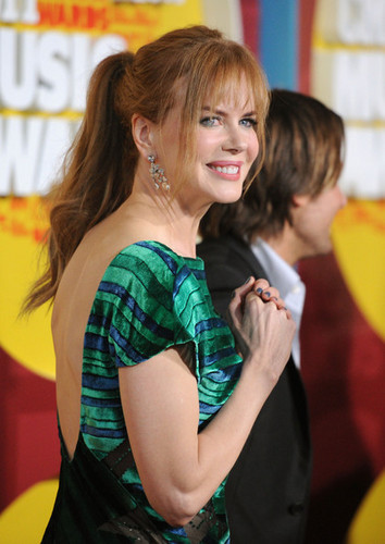 Nicole Kidman: CMT Muzik Awards 2011 with Keith Urban
