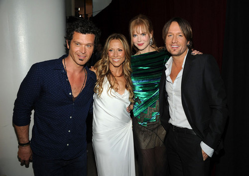 Keith Urban and Nicole Kidman: CMT Muzik Awards 2011
