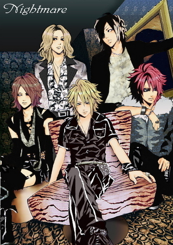 Japanese Bands fondo de pantalla possibly with anime called Nightmare