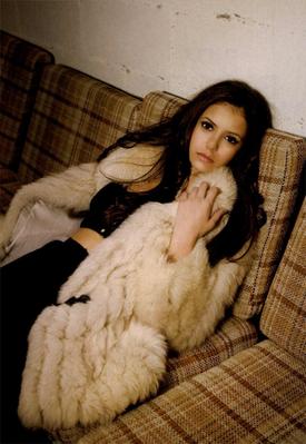 Nina Dodrev Photoshoot For  Zink Magazine