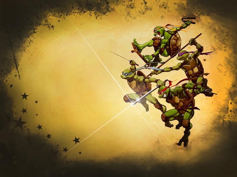 wallpaper ninja. wallpaper Ninja Turtles