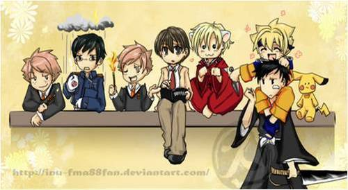 Ouran Cosplay!