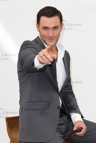 Owain Yeoman at the 51st Monte Carlo Television Festival