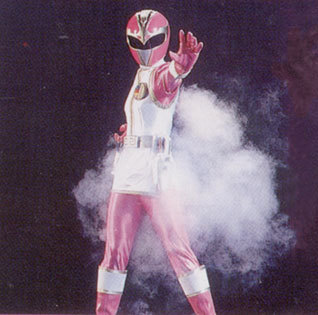Mighty Morphin Power Rangers wallpaper titled Pink Firebird Thunder Ranger