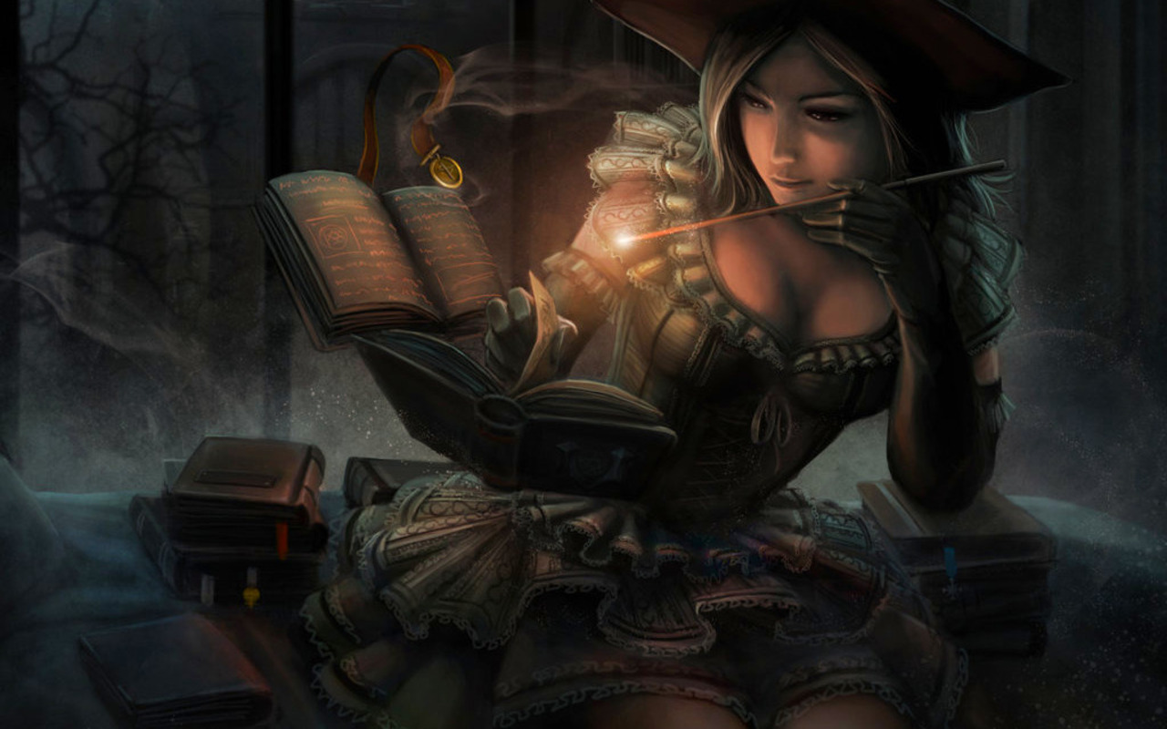 Fantasy Witch Art http://www.fanpop.com/clubs/fantasy/images/22791478/title/pirate-witch-photo