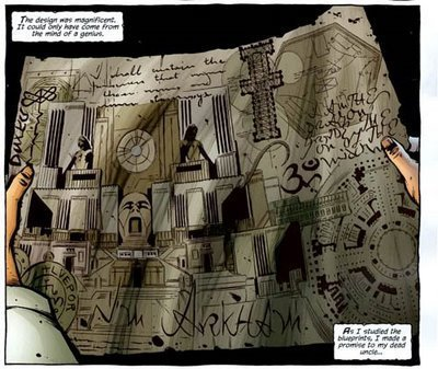 Plan of Arkham Asylum