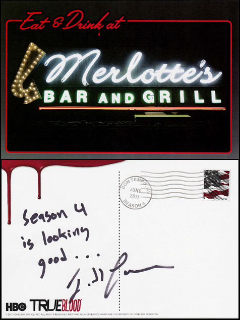 Postcard from Todd Lowe