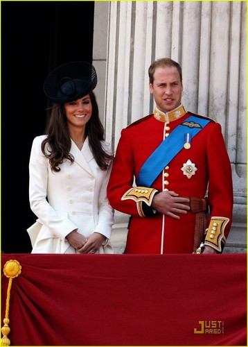 Prince William & Kate: Trooping the Colour Parade!