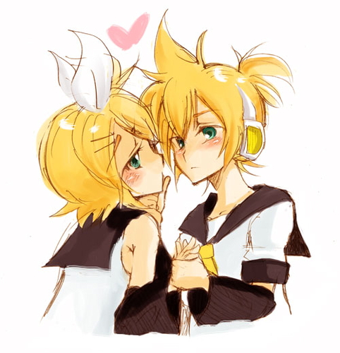 Rin X Len-Give me a キッス