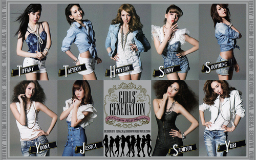 SNSD First Japon Tour Trading Card