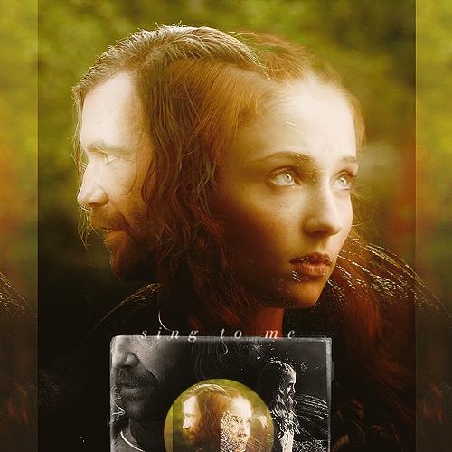 Sansa & Sandor - Game of Thrones Fan Art (22761717) - Fanpop