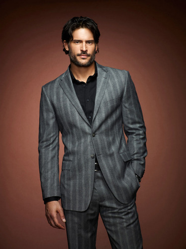 Sookie and Alcide wallpaper with a business suit, a suit, and a three piece suit entitled Season 4 - Cast Photos