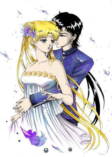 Seiya and Princess Serenity