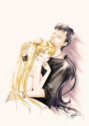 Seiya and Usagi