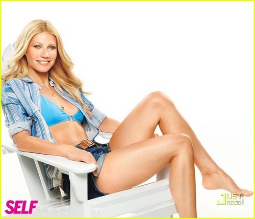 Gwyneth Paltrow wallpaper with skin called Self - May 2011