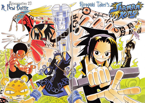Shaman King wallpaper with anime called Shaman King