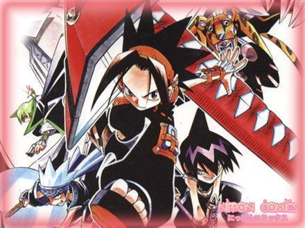 Shaman King karatasi la kupamba ukuta containing anime entitled Shaman King