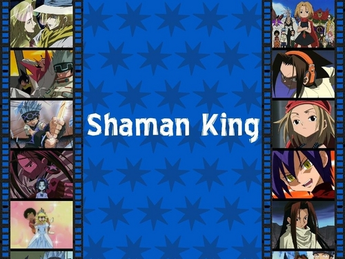 Shaman King wallpaper probably with a stained glass window and anime titled Shaman King