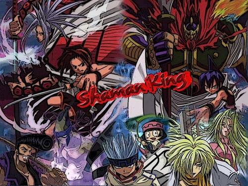 Shaman King wallpaper containing anime entitled Shaman King