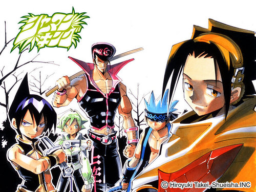 Shaman King wallpaper possibly with anime titled Shaman King
