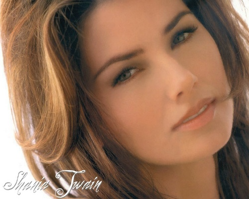 샤니아 트웨인 바탕화면 containing a portrait entitled Shania Twain