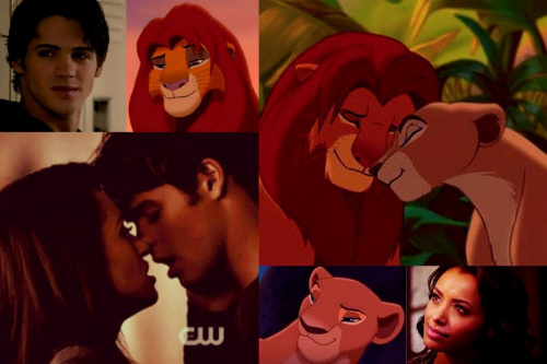 Simba & Nala - Jeremy & Bonnie Fan Art (22783381) - Fanpop