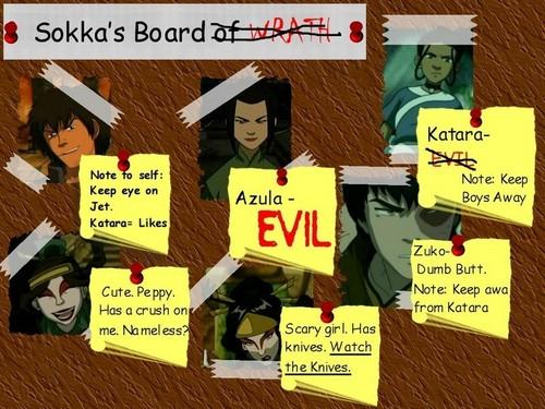 Sokka's board
