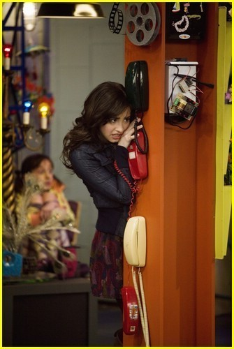 sonny with a change wallpaper possibly containing a telephone booth called Sonny With a Chance