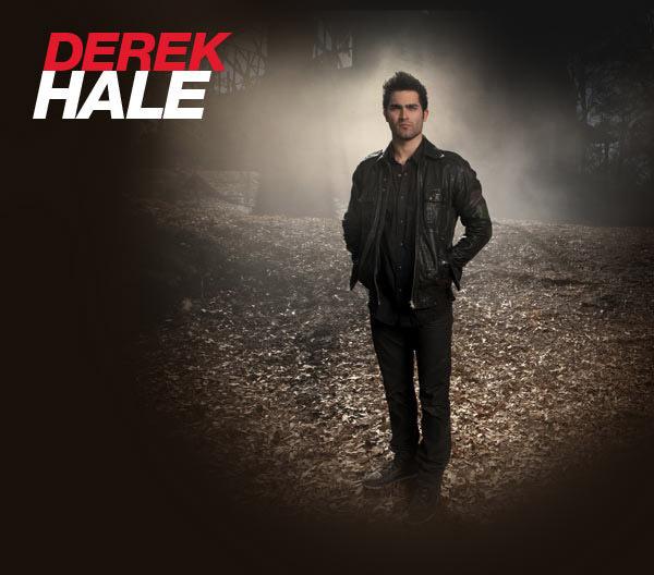 Teen mbwa mwitu - Derek Hale