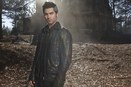Tyler Hoechlin wallpaper possibly containing a mulch and a well dressed person titled Teen Wolf - Derek Hale
