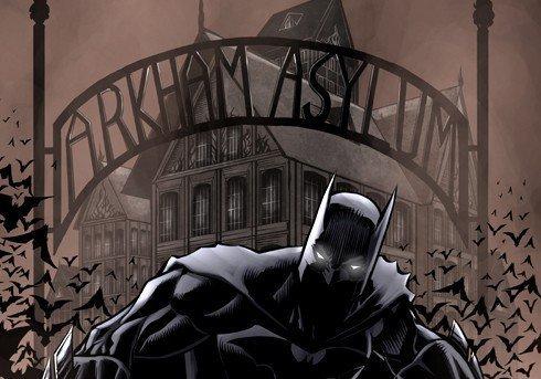 The Bat leaving the Asylum