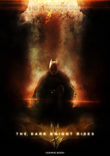 The Dark Knight Rises fan Poster