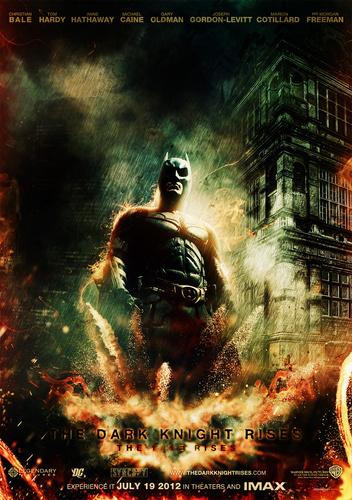 The Dark knight Rises fan Poster