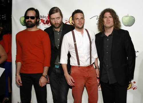 "The Killers at ""The Beatles Amore Cirque Du Soleil"" 6-8-11"