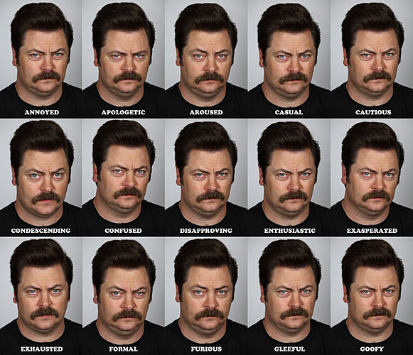 Ron Swanson Images The Many Faces Of Wallpaper And Background Photos