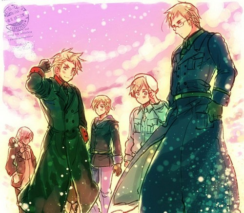 hetalia - axis powers - axis powers wallpaper with animê titled The Nordics