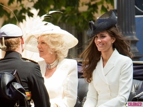 The Royal Family at the Queen's Official Birthday
