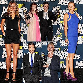 Tom Felton mtv awards