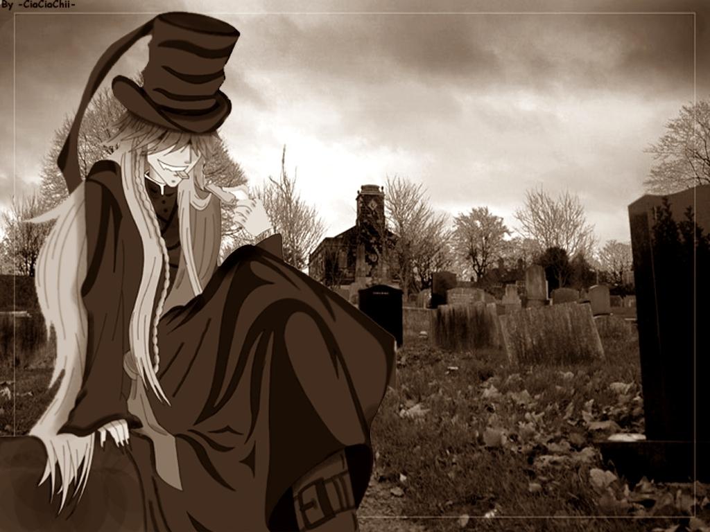 Undertaker! - Undertaker from Kuroshitsuji Wallpaper ...